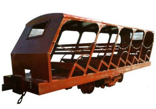 点击查看雷竞技官网平台<br>标题:XRB15型抱轨式斜井人车 阅读次数:812
